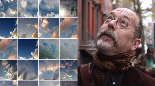ニューヨークの男性。「なんとなくだけど、空の写真を撮ってるんだ。もう200枚くらいかな。」