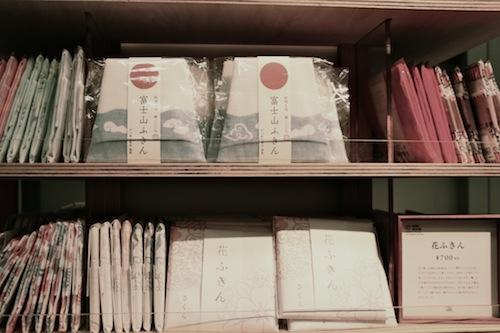 ロングセラーとなっている「花ふきん」シリーズ
